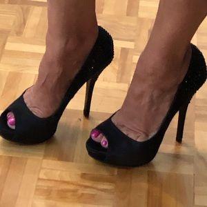 ALDO elegant open toe heels